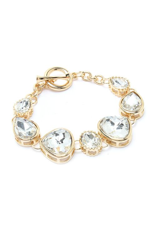 cut glass & gold bracelet <3. - SO WHO NEEDS DIAMONDS!! THIS IS SOO BEAUTIFUL OUI!!