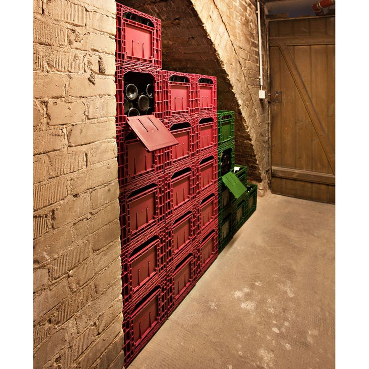 Cabka Wine Box - Set of 6 (72 Bottle Capacity - 12 Bottles per Box), Wine Racks; UK Wine Rack Suppliers - www.wineware.co.uk