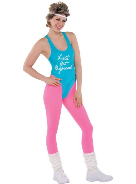 Getting Physical Costume Kit - Party City