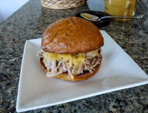 Pork and Kraut Sliders. A recipe by Real Food Finds #realfoodfinds #porkandkraut sliders