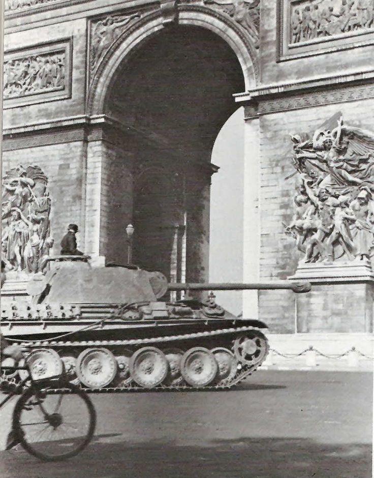 Panther G /ss/ LAH Paris 1944.