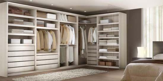Arm rios planejados quarto casal google search for Modelos de closets para dormitorios
