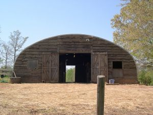 """""""When researching structures, the Quonset hut stood out to us for it's eco-friendly qualities."""" via @quonsethouse"""