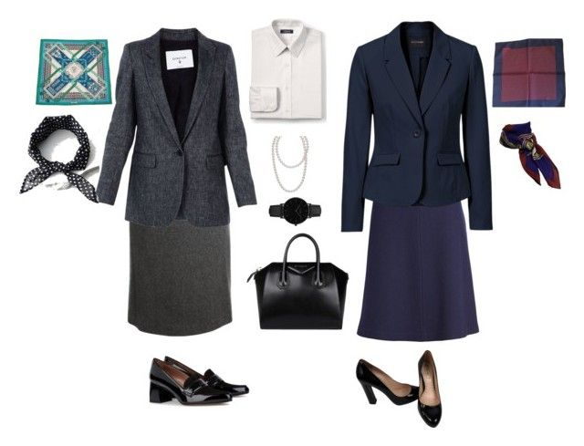 formal by nkoreshkova on Polyvore featuring polyvore мода style Dondup St. John Akris Tabitha Simmons Miu Miu Givenchy CLUSE Hermès LULUS Lands' End fashion clothing