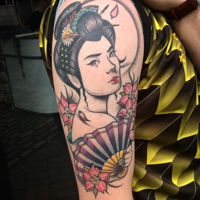 120 Classic Geisha Tattoo Designs And Meanings cool  Check more at http://fabulousdesign.net/geisha-tattoos-meanings/