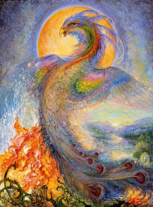 The Phoenix by Josephine Wall
