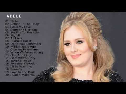 Adele Hits All Songs 2017 - Adele Greatest Hits Collection - YouTube