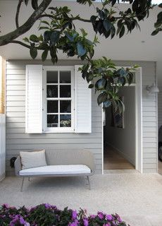Currently crushing on: weatherboard. - dream house porch