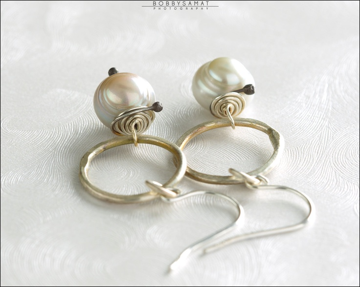 Sterling SIlver & Freshwater Pearl Earrings - Jewelry by Jason Stroud.Pearl Earrings, Jason Bracelets, Freshwater Pearls, Sterling Silver, Pearls Earrings, Jason Gold, Accessories, Amazing Jewelry, Silver Freshwater