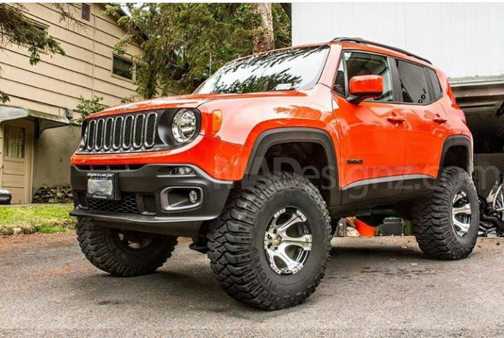 Lifted Renegade Trailhawk >> Jeep Renegade Th With Daystar Lift Kit Installed Jeep Renegade