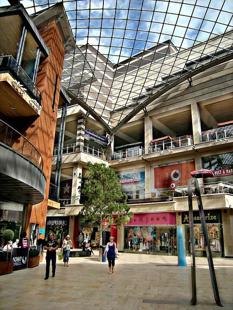 Cabot Circus Shopping Centre, Bristol.