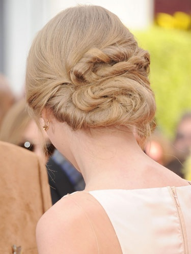 This loopy, twisty 'do spotted on #TaylorSwift is one of the more unique red carpet styles we've seen! #formalhair #hairideas: Bun Hairstyles, Beautiful Hairstyles, Celebrity Hairstyles, Prom Hairstyles, Updo Hairstyles, Hair Style, Hairstyles Twisted Bun1 Jpg, Wedding Hairstyles, Hairstyles For Long Hair