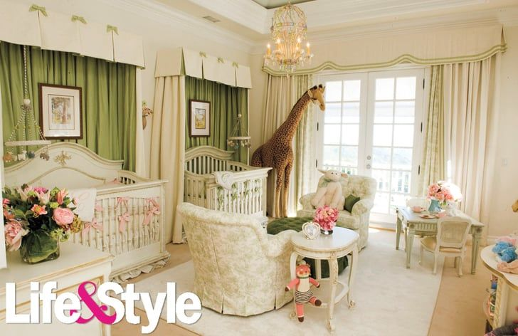 Pin for Later: 81 Nurseries and Kids' Rooms You Have to See to Believe Mariah Carey's Twins' Nursery