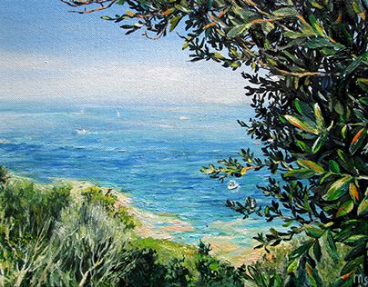 """Check out new work on my @Behance portfolio: """"View from the Cape of Sirmione"""" http://on.be.net/1LNzFxC"""