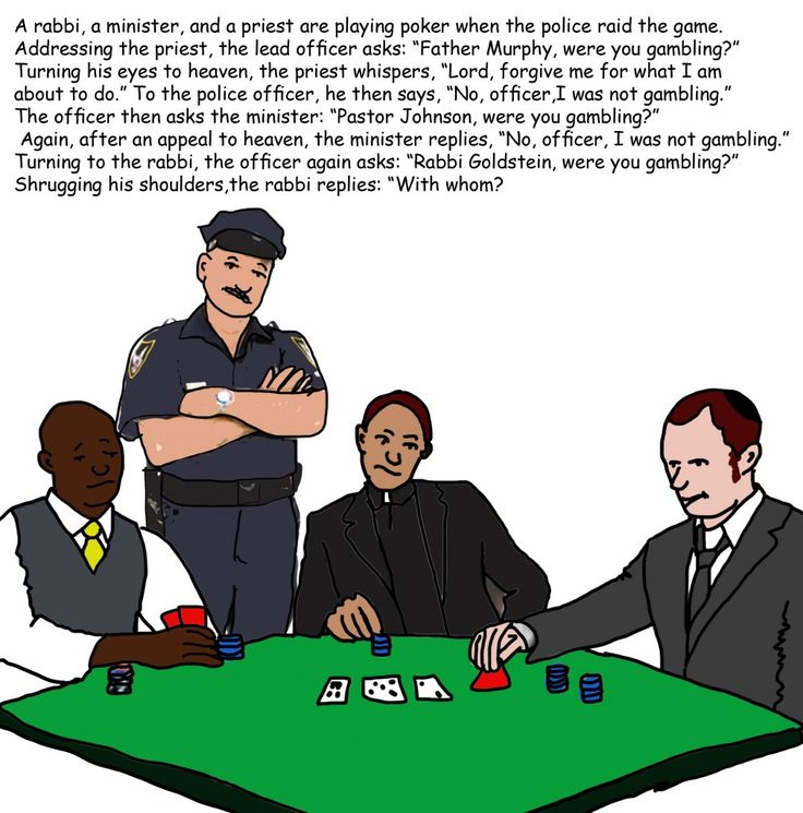 Top 10 best jokes about gambling