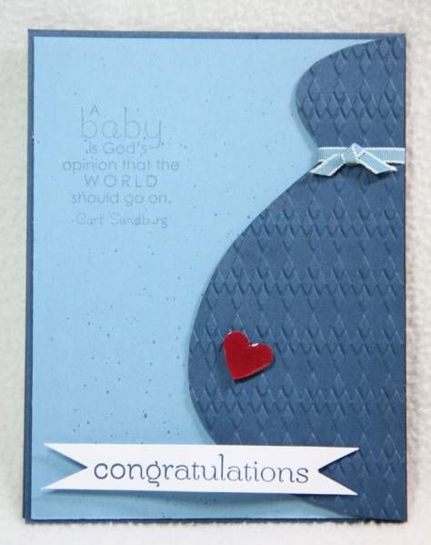 Baby Bump by janetyates - Cards and Paper Crafts at Splitcoaststampers