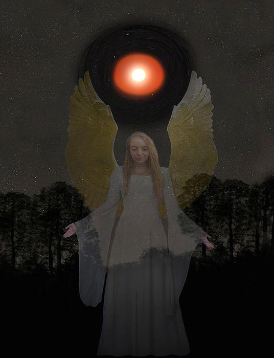 Spiritual Light - Customised Christmas Cards Fine Art America