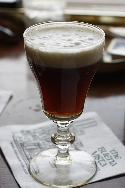 Buena Vista Cafe's Irish Coffee. Yum, are you sure these are the right glasses?