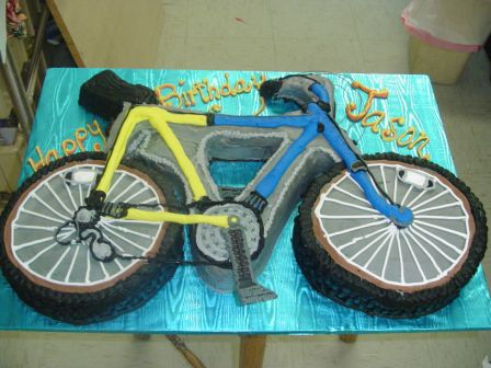 #bicycle cake (This is not my image.)