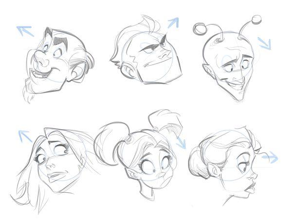 Aprende a dibujar caricaturas (muy fácil)                                                                                                                                                                                 Más