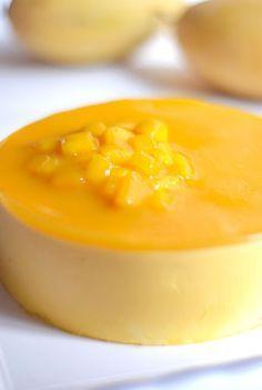Mango Mousse Cake with Mango Glaze
