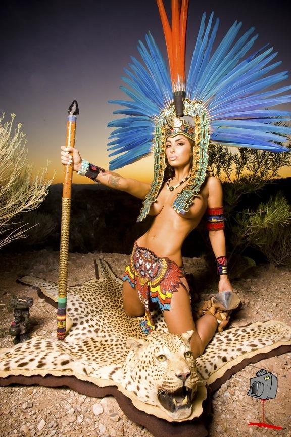 Latina Porn Girl Aztec