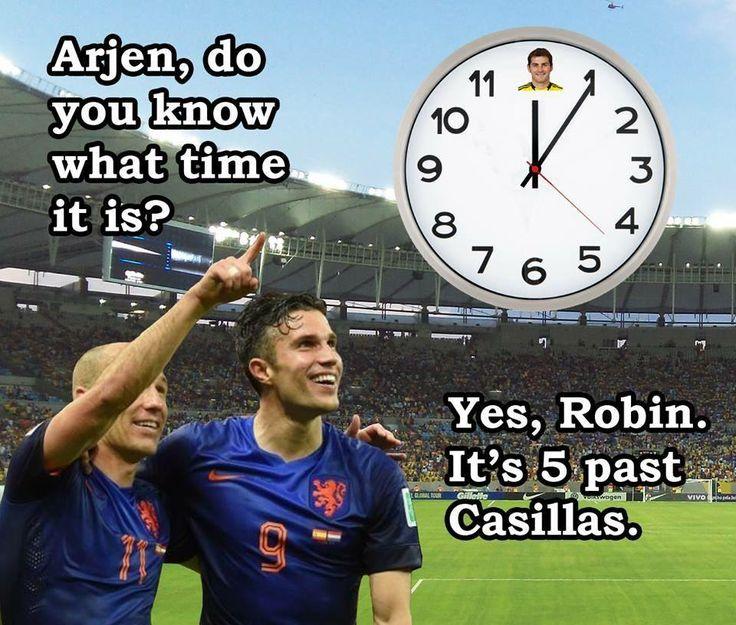 5 past Casillas