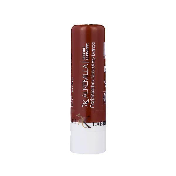 ADDOLCILABBRA CIOCCOLATO BIANCO  Burro labbra idratante e protettivo al Cioccolato Bianco  grazie alla sinergia di oli vegetali biologici come il Nocciole, il Girasole ed il Ricino ed alla cera di Candelilla e Carnaiba.