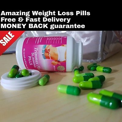 30 CAPSULES Trimmax Slimming Pill ** Fast LOSE Weight Pills** FAT LOSS SLIM BIO