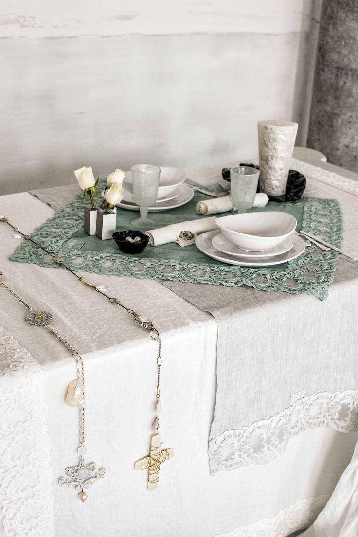 #danieladallavalle #artepura #fw15 #collection #white #green #bed #table