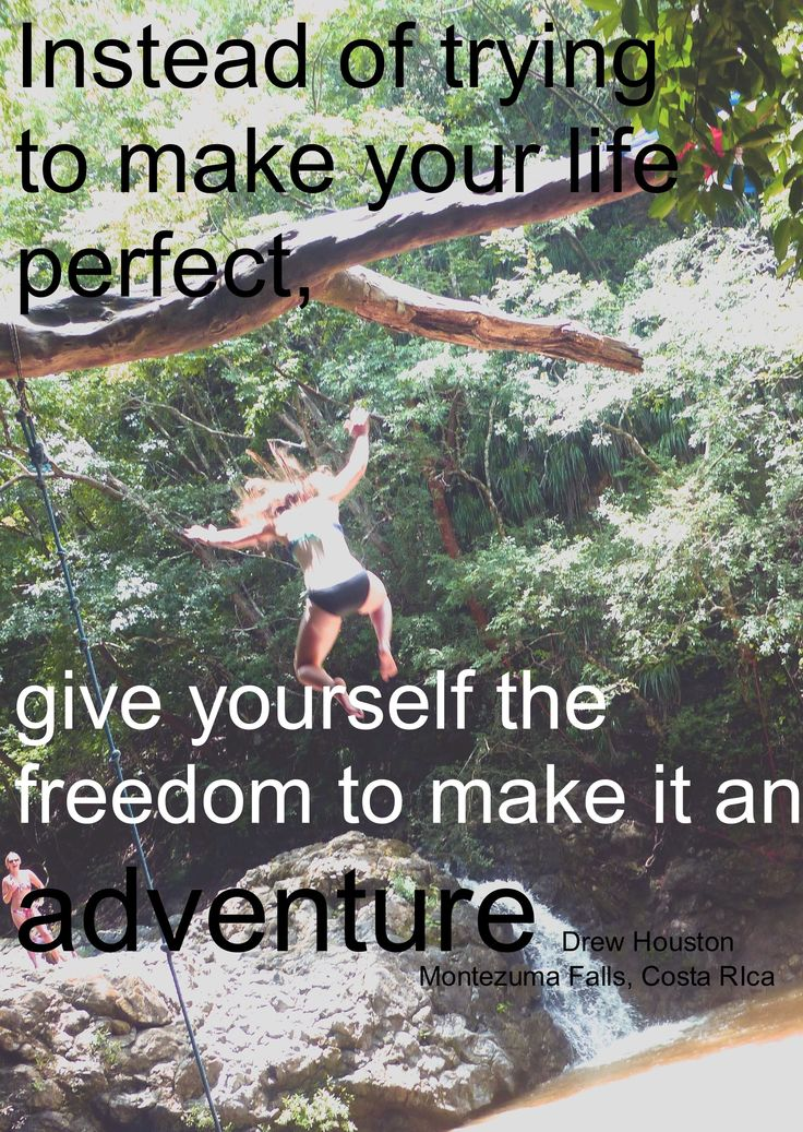 Quotes About Our Backyard : Living the adventure at our backyard waterfalls! Picture from
