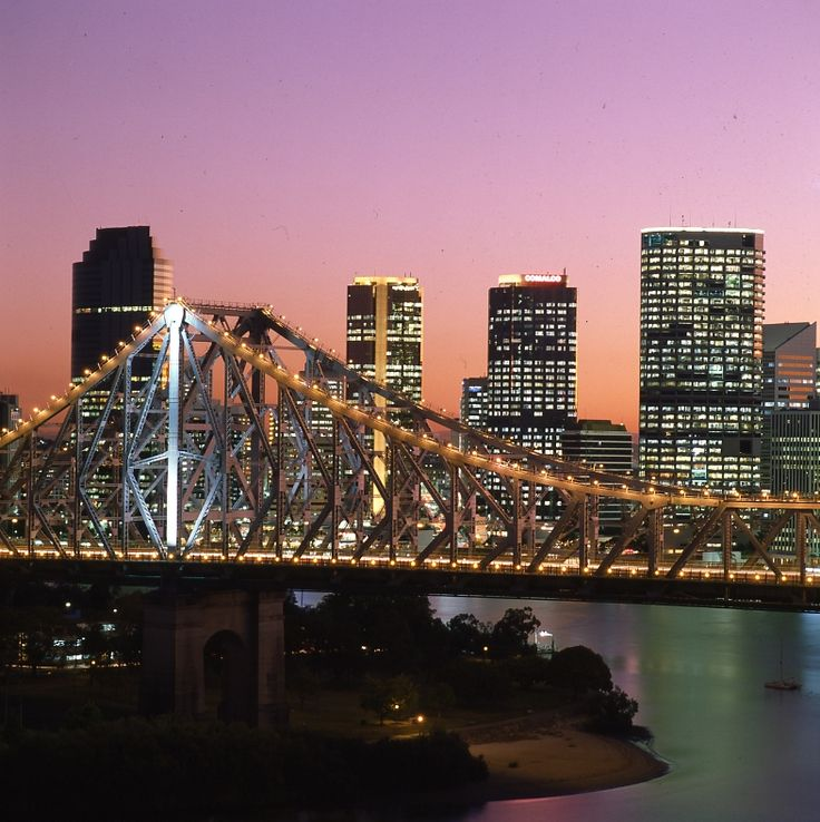 Story Bridge at Night - 1993