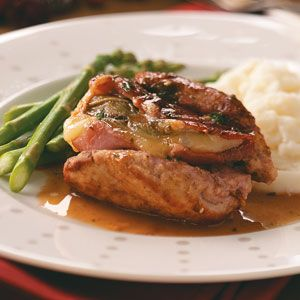 Veal Saltimbocca. Made this the other day and cannot wait to make it again. Delicious and easy!