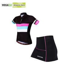 US $34.71 WOSAWE New Summer Women Cycling Jersey Bike Ciclismo Bicycle Clothing Mtb Clothing Gel Pad Cycling Clothes. Aliexpress product