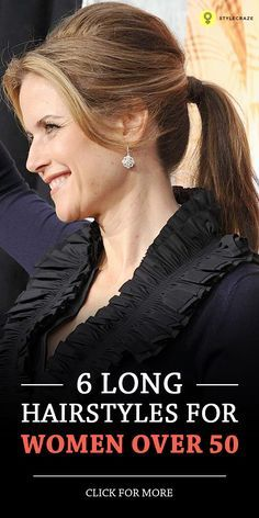 30 incredible long hairstyles for women over 50  long
