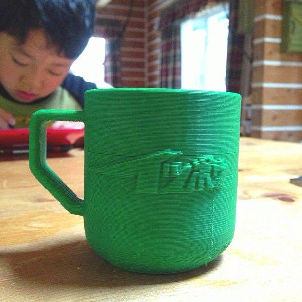 3D printing #cup !! #3D #3Dprint #3Ddata