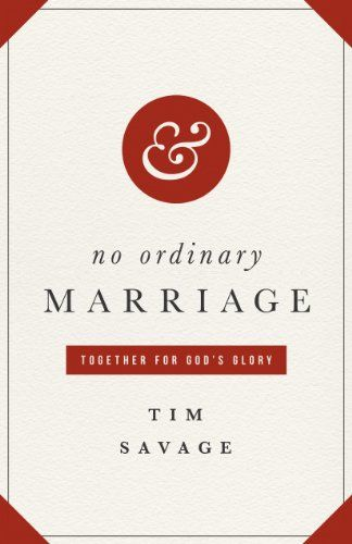 No Ordinary Marriage: Together for God's Glory by Tim Savage http://smile.amazon.com/dp/1433530333/ref=cm_sw_r_pi_dp_M39gxb0JBBWHH (recommended on FamilyLife Today)
