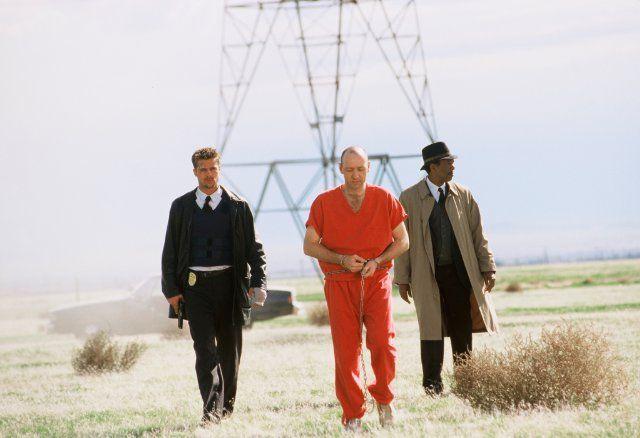 Seven(1995)USA__My Rating:6.7/10__Director:David Fincher__Stars:Morgan Freeman、Brad Pitt、Kevin Spacey