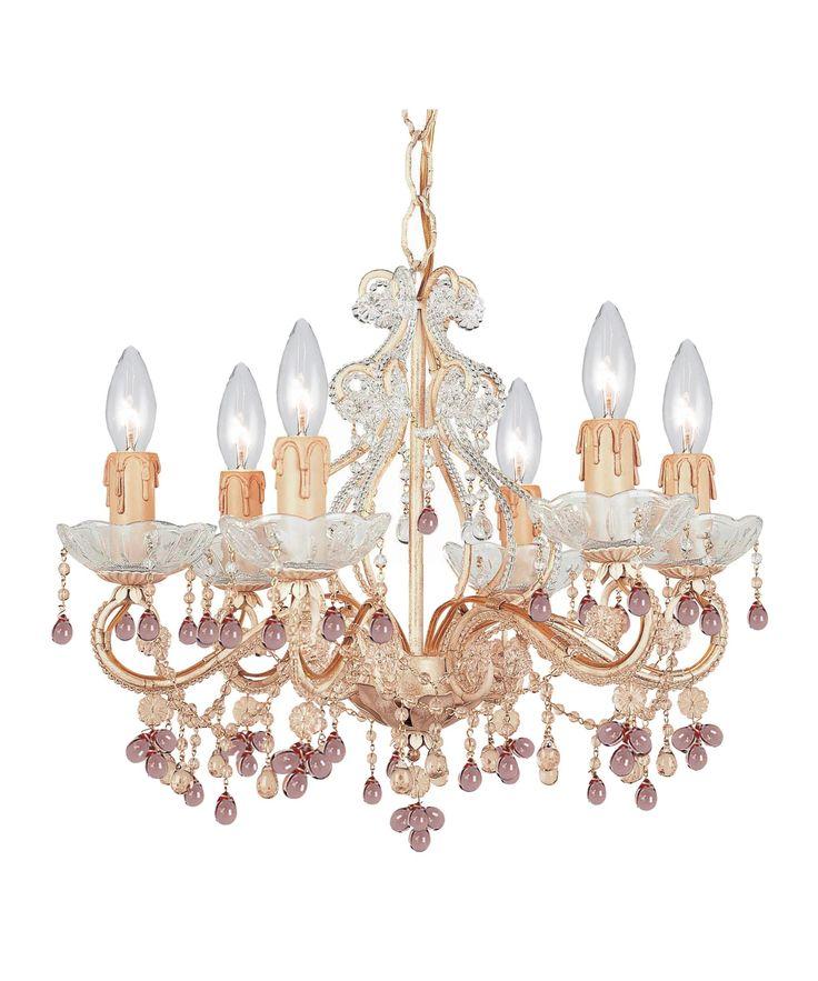 Crystorama 4507-DR Paris Flea Market Chandelier | Capitol Lighting 1800lighting.com
