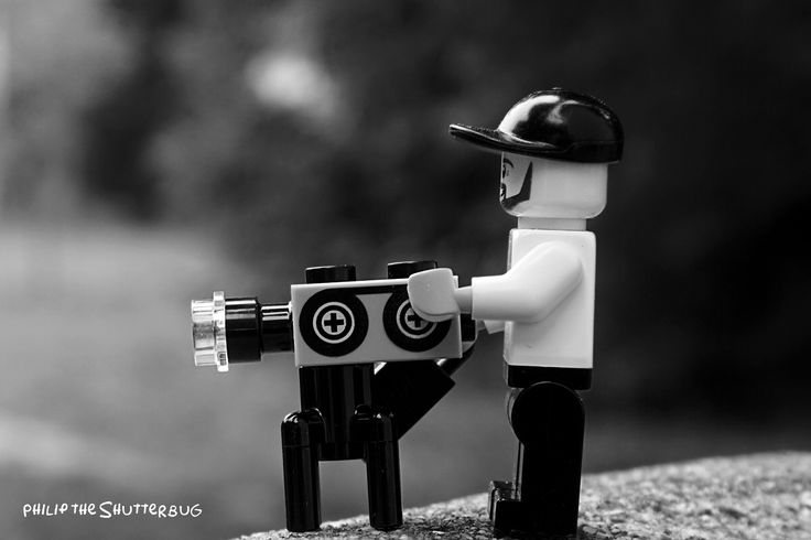 Shooting alone. 58/500 #Lego #legophotography #shutterbug #toys #blocks #bricknetwork #diy #minifigures #afol #cinematography