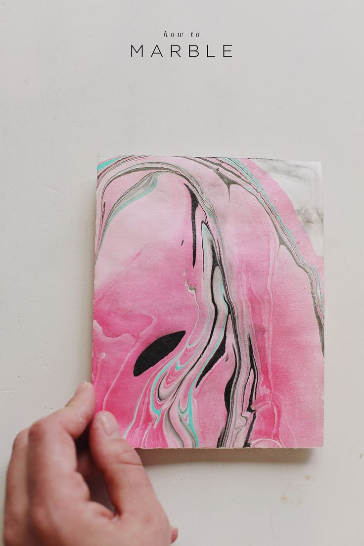 A tutorial on how to Marble on paper and fabric. #diy
