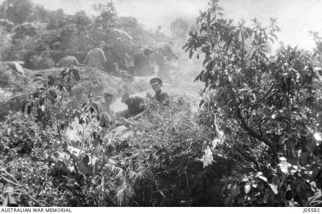 he position covering Quinn's Post and the Chessboard on the Gallipoli Peninsula, 25 April 1915. J05582
