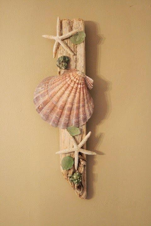 50-DIY-Ideas-with-sea-shells-45.jpg (480×720)