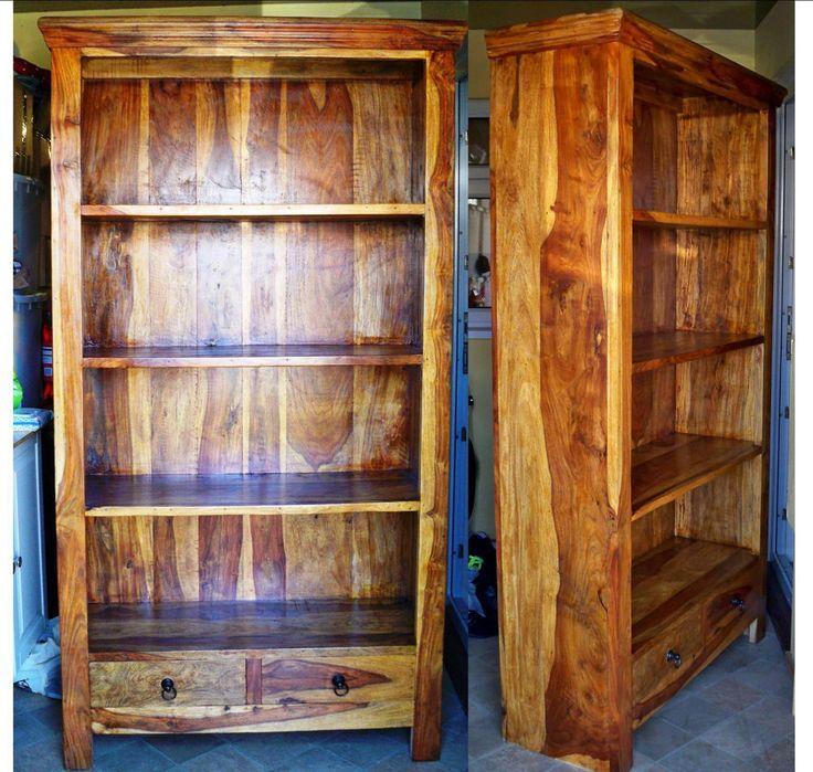 Sheesham Jali Indian Wood Bookcase Furniture Pinterest Bookcases And Woods