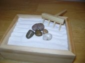 4 inch by 4 inch Basic Zen Garden Package