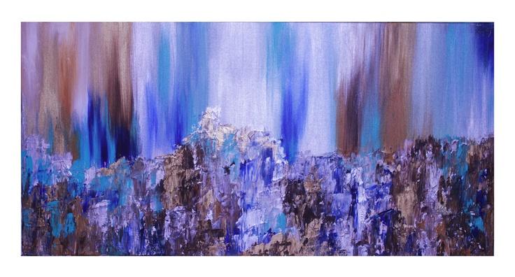 Untitled 31, 40x20, Acrylic on Canvas, 2011