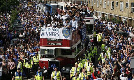 FA cup winners touring south sea!