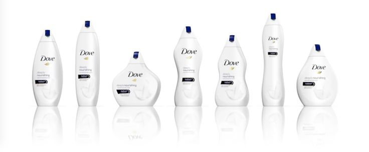 Dove's brand idea is that beauty comes in all shapes and sizes is applied very far. (Ogilvy London.)