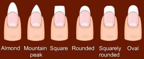 Different Nail Shapes Nails That I Love Pinterest Nail Nail