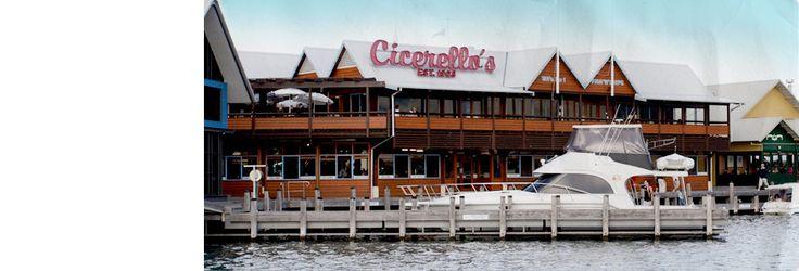 Our favorite restaurant in Perth ~ Cicerellos Fremantle and Mandurah Fish n Chips shop - Perth Western Australia